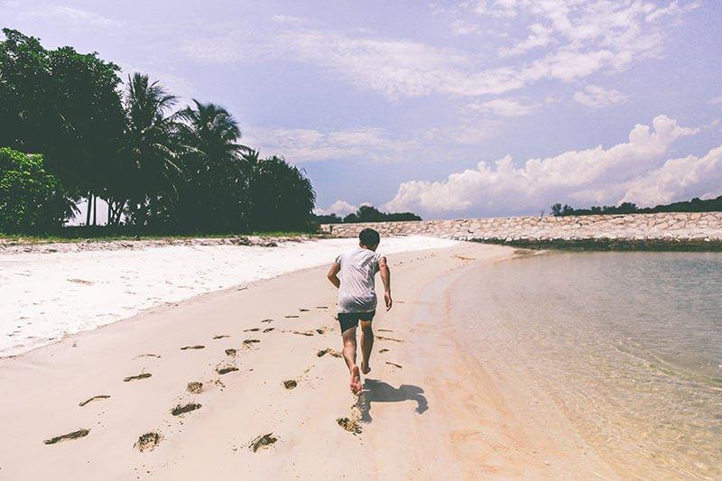 бег чтобы избавиться от жира на животе