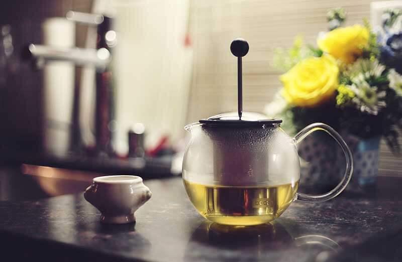 Зеленый чай помогает избавиться от жира на животе